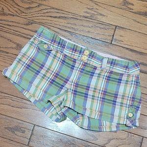 AEO plaid shorts - Beautiful colors GUC!
